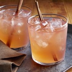 The Cider Jack Cocktail, perfect for bringing in the Fall.