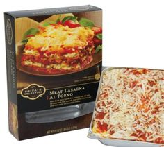 Dinner for four! Available at Kroger! Their upscale Private Selection Lasagna option is idea for a delicious dinner!