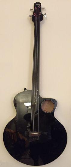 1998 Taylor AB-3 Fretless Acoustic Bass Guitar