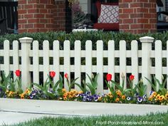 Picket Fence Ideas For Instant Curb Eal