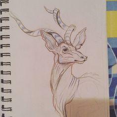 #greaterkudu #sketchbook
