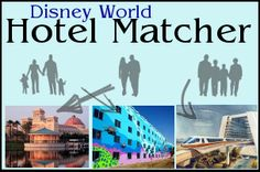 Take the Disney World hotel matcher quiz -- this is fun and might be a good starting point.