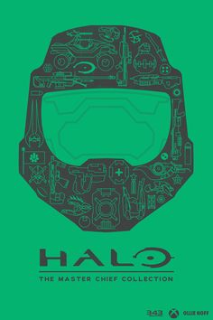 Halo: The Master Chief Collection Poster - Created by Ollie Hoff
