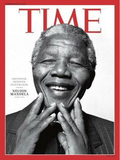TIME magazine cover in memory of Nelson Mandela, who died on December 5, 2013