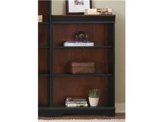 Shop+for+Liberty+Furniture+Jr+Executive+48+Inch+Bookcase+(RTA),+260-HO3048-RTA,+and+other+Home+Office+Bookcases+at+FurnitureLand+in+Delmar,+Delaware.+Poplar+Solids+And+Cherry+Veneers,+Adjustable+Shelves,+Can+Be+Bunched,+Carb+Compliant,+Bookcase+Can+Be+Setup+For+An+Additional+Fee,+Light+Distressing.