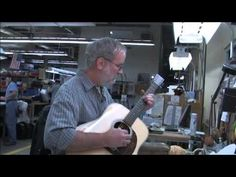 at Martin Guitar Factory