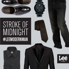 Dark on dark, with an extra dose of dashing. Lee Jeans, Modern Man, Style Me, Design Ideas, Blazer, Dark, Jackets, Fashion Design, Down Jackets