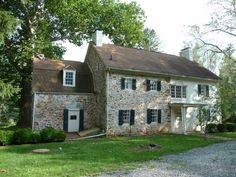 historic stone walk in fireplaces | Historic Stone House and Mill For Sale in West Grove, Pennsylvania