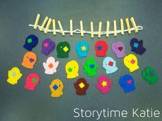 Flannel Friday: Mittens   storytime katie