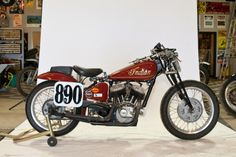 1937 Indian Scout Racer!