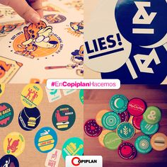 Stickers Personalizados en http://www.copiplan.com.uy/