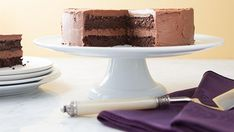"""This amazing confection rivals any """"regular"""" cake for rich taste and moist texture."""