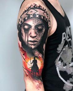 Tattoo art by Rich Harris