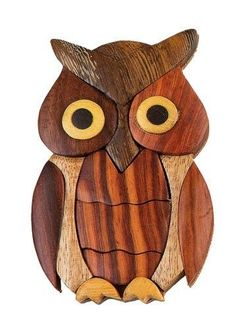 INTARSIA-WOOD-OWL-MAGNET-handsome-handcrafted-wood-mosaic