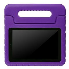 BMOUO Kids Case for Fire 7 2015  Shock Proof Convertible Handle Light Weight Super Protective Stand Cover Case for Fire 7 inch Display Tablet 5th Generation  2015 Release Only  Purple >>> Learn more by visiting the image link.