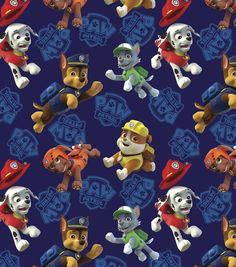 Nickelodeon Paw Patrol Heroes Cotton Fabric