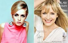 Twiggy, how I wanted to look like her.  Had the haircut.
