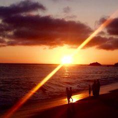 San Juan Beach Sunset