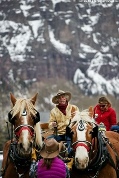 Ride with Roudy! Telluride, CO | FamilyFreshCooking.com
