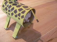 I& back on the cardboard animal trail - this time my mini maker asked for a zebra and a giraffe to add to the lions we& already made for. Afrika Festival, Zebra Craft, Cardboard Animals, Giraffe, Elephant, Toilet Paper Roll Crafts, Zebras, Art For Kids, Craft Projects