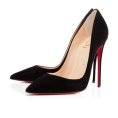 Christian Louboutin Brand New So Kate 120mm Suede Black Pumps on Tradesy