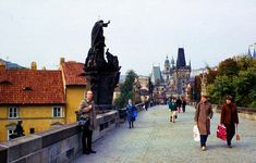 vintage everyday: Color Photographs of Prague in the Late 1970's