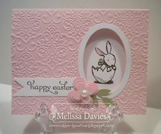 Good Morning, Stampers!   I love Spring and Easter and everything that goes along with it! I love the pretty, subtle colors, the flowers blo...
