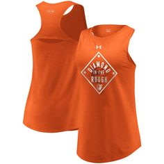 5d72f11e8d408 Baltimore Orioles Under Armour Women s Passion Diamond Tri-Blend Performance  Tank Top – Orange