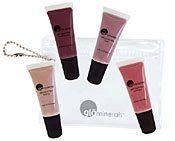 gloMinerals gloMini Liquid Lips by GloMinerals. $9.99. gloMini Liquid Lips is a foresome pack that is cute and functional! From subtly alluring to dramatic and bold, these four beautiful shades are as versatile as they are lovely. Slip the petite glominerals pouch into your bag for gorgeous lips on-the-go! Layer and mix or combine with your favorite glominerals lip pencil or lipstick for added definition and dimension. darling, black cherry, luna, beloved.  Perfectly sized ...