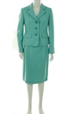 Evan Picone Woven Suit