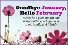 Daveswordsofwisdom.com: February - Please be a good month.