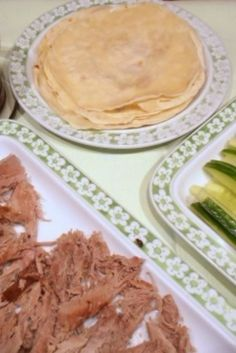 A recipe for Chinese pancakes served with Peking duck. Homemade Peking Duck Pancakes are easy to make and taste like pancakes in Chinese restaurants.