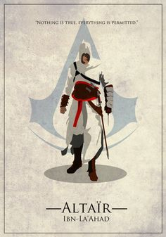 Altair ibn-La'Ahad by EvanDeCiren on DeviantArt Assassins Creed Black Flag, Assassins Creed Series, Assasins Cred, Assassin's Creed Wallpaper, All Assassin's Creed, Desenho Tattoo, Book Cover Design, Game Art, Character Art