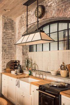 Preciosa luminaria para la cocina
