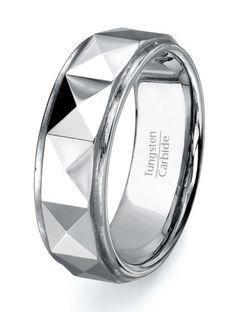 Tungsten Ring Wedding band  Mens Tungsten Carbide by TungstenOmega, $38.95