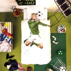 top3 by design - Snurk - soccer champ single bed set