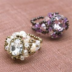 Free Ring Pattern featured in Bead-Patterns.com Newsletter!
