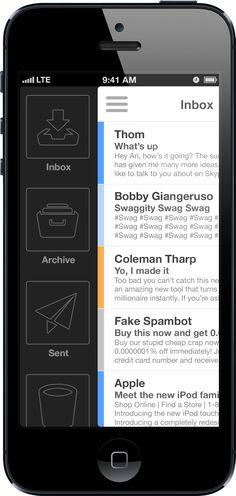 iPhone Mail App v3 / Ari