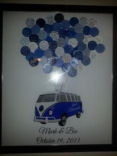 Combi Wedding Keepsake by MillyBoo Designs