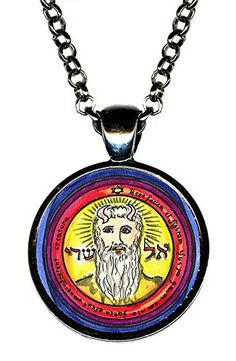 "Solomons 1st Pentacle of the Sun El Shaddai Grants All Things Desire 1"" Gunmetal Pendant Artisan Courtyard http://www.amazon.com/dp/B013NXZVKY/ref=cm_sw_r_pi_dp_hcdYvb1A1PSKW"