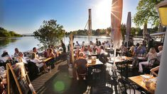 Lille Herber'n restaurant on island in Oslo fjord. Oslo, Bergen, Norway, Island, Restaurants, Islands, Restaurant, Mountains