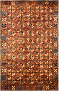 Carson Copper & Red Rug by Ralph Lauren Home