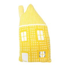 Heal's | Heal's House Shaped Cushion With Chimney by Donna Wilson - Cushions - Soft Furnishings - Accessories