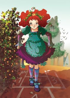 Fairy Oak-Shirley Poppy