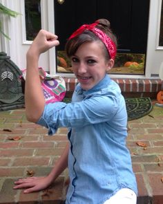 Rosie the Riveter from Kathy Mumma