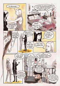 Memorias de una dibujante responsable y otros cuentos sobre Superchicas.: Ruégame Página 1
