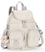 Kipling Firefly N Medium Backpack Dazzling Beige