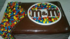 M's CAKE!!! Mother of cake!
