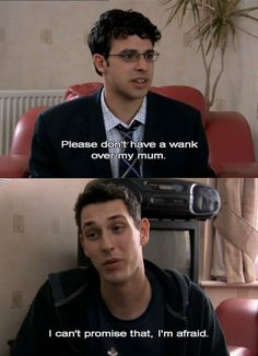 This show is incredibly funny and offensive - Love it! ~ The Inbetweeners. Season 1 Episode Off. British Tv Comedies, British Comedy, Inbetweeners Quotes, Birthday Present For Husband, Comedy Tv Shows, British Humor, Film Quotes, Parks And Recreation, Music Tv