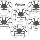 $0.00 A great addition to any spider unit!!  This product can be used as a center or a fun way to assess students on facts and opinions.  The following i...